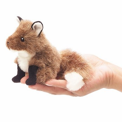 Folkmanis finger puppet mini fox