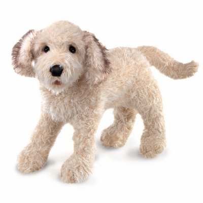 Folkmanis hand puppet Labradoodle