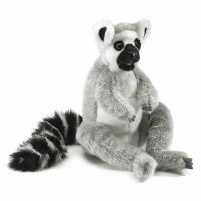 Folkmanis hand puppet ring-tailed lemur