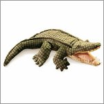 Folkmanis hand puppet alligator